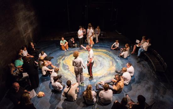 Image of children in the Tempest workshop