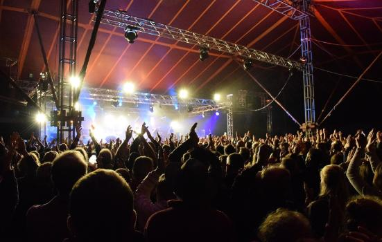 Towersey Festival, pictured here in 2018