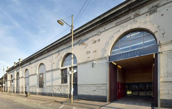 Photo of the Tramway arts centre