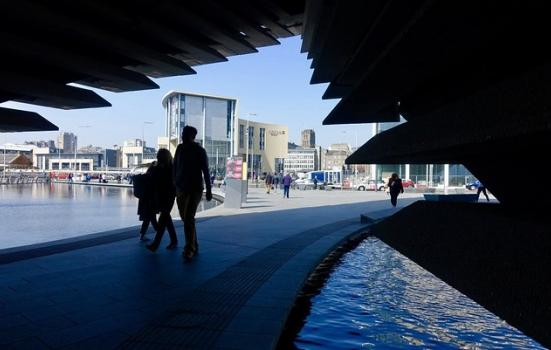 A photo of V&A Dundee