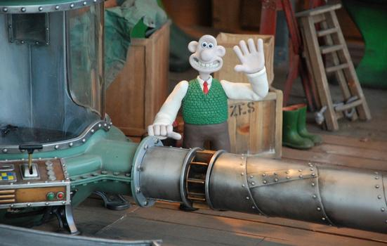 Photo of Wallace and Gromit
