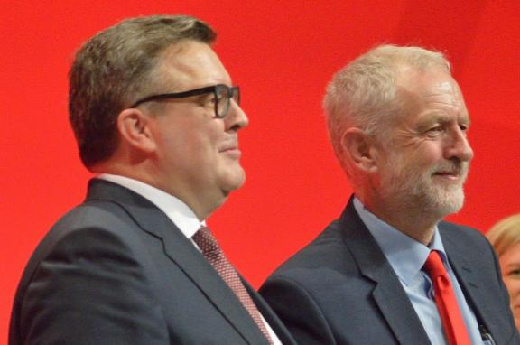 Photo of Tom Watson and Jeremy Corbyn