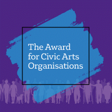 Award Civic Arts logo