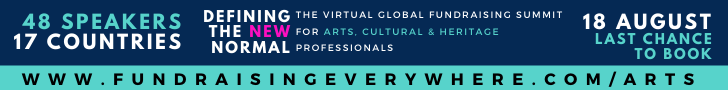 Defining the New Normal Arts Summit banner ad